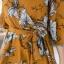 เดรสแฟชั่น พร้อมส่ง เดรสสั้นผ้าชีฟองลายดอก thumbnail 8