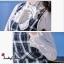 ชุดเดรสเกาหลี พร้อมส่ง เสื้อ+เดรส ลายตารางสก็อต thumbnail 6