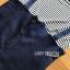 เสื้อผ้าเกาหลี พร้อมส่ง เซ็ตเสื้อยืดแขนสั้นลายทางและเดรสเอี๊ยม thumbnail 17