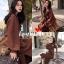 เสื้อเกาหลี ทรงโอเวอร์ไซส์ พร้อมส่ง thumbnail 3