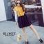 เสื้อผ้าเกาหลี Set 2 ชิ้น เดรสแขนยาว คอปีน thumbnail 8