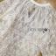 พร้อมส่ง เสื้อผ้าลูกไม้สีขาวงาช้าง thumbnail 5