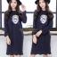 เดรสเกาหลี พร้อมส่ง Dress ทรงใหญ่ ใส่สบาย thumbnail 1