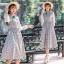ชุดเดรสเกาหลี พร้อมส่ง Dress ลายสก็อต thumbnail 1