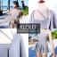เดรสเกาหลี Set 2 ชิ้น เสื้อคลุม + Mini dress thumbnail 5