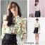 เสื้อผ้าเกาหลี พร้อมส่ง เสื้อเชิ้ตกับกระโปรงทรงเอ thumbnail 4