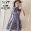 พร้อมส่ง Mini dress ลุคคุณหนูน่ารัก thumbnail 6