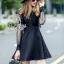 พร้อมส่ง Mini Dress ลุคเรียบหรู thumbnail 8