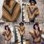 เสื้อเกาหลี พร้อมส่ง เสื้อโค้ทกันหนาว โบฮีเมี่ยน thumbnail 3