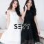 พร้อมส่ง Dress งานเรียบหรู สวย เดรสผ้าตาข่าย thumbnail 19
