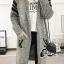 เสื้อผ้าเกาหลี พร้อมส่ง โอเวอร์โค้ททรงยาว thumbnail 9