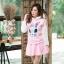 เสื้อเกาหลี พร้อมส่ง จั้มเปอร์ฮู้ด ลายกระต่าย thumbnail 1