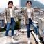 เสื้อเกาหลี พร้อมส่ง Shinori Blazer thumbnail 2
