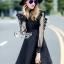 พร้อมส่ง Mini Dress ลุคเรียบหรู thumbnail 12