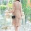 ชุดเดรสลูกไม้ พร้อมส่ง Lace Dress ทรงบาน thumbnail 21