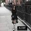 เดรสเกาหลี พร้อมส่ง Mini dress ระบายชีทู 3 ชั้น thumbnail 8