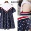 เดรสเกาหลี พร้อมส่ง Mini dress เปิดไหล่ ทรงหลวมๆ thumbnail 6