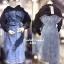 เดรสแฟชั่น พร้อมส่ง Dress เสื้อมีฮู้ดเย็บติดเดรสยีน thumbnail 2