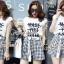 เสื้อผ้าเกาหลีพร้อมส่ง เสื้อยืดกับกางเกงลายสก๊อต thumbnail 1