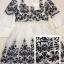 พร้อมส่ง Mini Dress ผ้าฝ้าย ปักลายดอกเชิงลาย thumbnail 7
