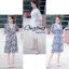 เสื้อผ้าเกาหลี พร้อมส่ง จัมพ์สูทขายาว thumbnail 1