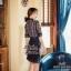 เดรสเกาหลี พร้อมส่ง เดรสสั้น สีดำ ลุคสวยหรู thumbnail 6