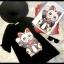 เสื้อเกาหลี พร้อมส่ง T-Shirt ลายแมว thumbnail 5