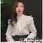 พร้อมส่ง เสื้อแฟชั่นเกาหลีสไตล์เจ้าหญิง thumbnail 1