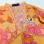 พร้อมส่ง เสื้อตัวยาวพิมพ์ลายสาวโบฮิเมี่ยน โมร็อคโค thumbnail 7