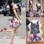 พร้อมส่ง เดรส Korea Style ลายผ้าสวย thumbnail 4