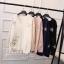 เสื้อเกาหลี พร้อมส่ง เสื้อคอวี ทรงโอเวอร์ไซส์ thumbnail 5
