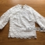 พร้อมส่ง เสื้อผ้าลูกไม้สีขาวสไตล์วินเทจ thumbnail 9