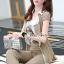 เสื้อผ้าเกาหลี พร้อมส่ง เซ็ท 3 ชิ้น มี 2 สี thumbnail 12