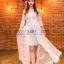 พร้อมส่ง Maxi dress ยาวสีขาว thumbnail 2