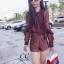 เสื้อผ้าเกาหลี พร้อมส่ง Set เสื้อพริ้นลายดอก thumbnail 8