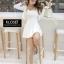 เดรสเกาหลี Set 2 ชิ้น เสื้อคลุม + Mini dress thumbnail 9