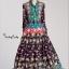 ชุดเดรสเกาหลี พร้อมส่ง Dress ยาว คอผูกโบว์ thumbnail 1