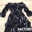 ชุดเดรสเกาหลี พร้อมส่ง Maxi Dress ปาดไหล่สม็อก thumbnail 5