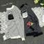 เสื้อเกาหลี พร้อมส่ง เสื้อไหมพรมลายริ้ว thumbnail 8