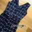 พร้อมส่ง เสื้อผ้าแฟชั่น แพนท์สูทแขนกุดพิมพ์ลายตาราง thumbnail 12