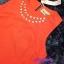 พร้อมส่ง เซทเสื้อ+กระโปรง เสื้อครอปสีส้ม มาพร้อมสร้อยคอ thumbnail 7