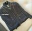 พร้อมส่ง เสื้อคลุมผ้าทวิตสีกรม BRAND CHANEL thumbnail 10