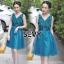 พร้อมส่ง Dress ลุคไฮโซเรียบหรู thumbnail 3