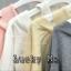 เสื้อเกาหลี ตัดต่อเสื้อกล้าม พร้อมส่ง thumbnail 6