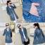 เสื้อเกาหลี พร้อมส่ง เสื้อสูทยีนส์ ทรงยาว thumbnail 6