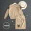 เสื้อผ้าเกาหลี กับกางเกงเอวยางยืด พร้อมส่ง thumbnail 3