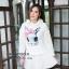เสื้อเกาหลี พร้อมส่ง จั้มเปอร์ฮู้ด ลายกระต่าย thumbnail 14