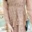 ชุดเดรสลูกไม้ พร้อมส่ง Lace Dress ทรงบาน thumbnail 23