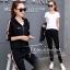 เสื้อผ้าเกาหลี พร้อมส่ง Set 2 ชิ้น Givenchy Sport thumbnail 2