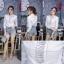 เสื้อเกาหลี พร้อมส่ง เสื้อเชิ้ต คอปกลายตาราง thumbnail 15